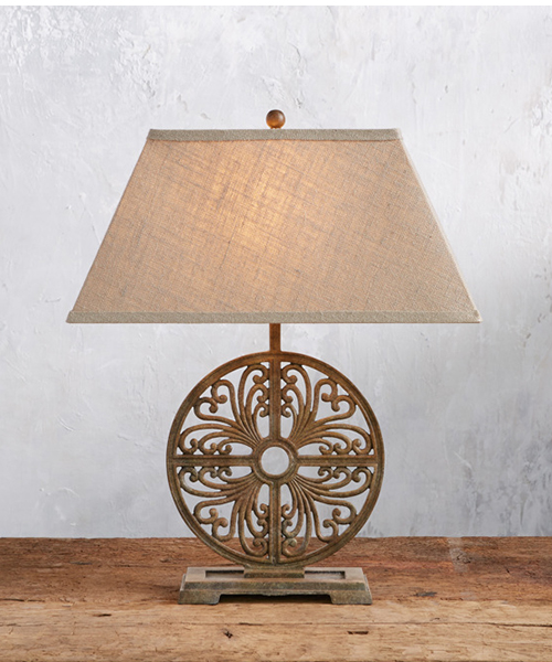 Javi Rustic Base Table Lamp