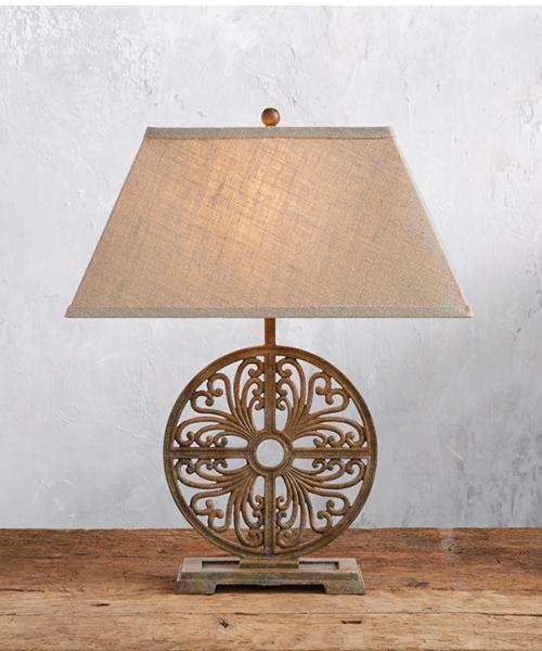 Javi Rustic Base Table Lamp