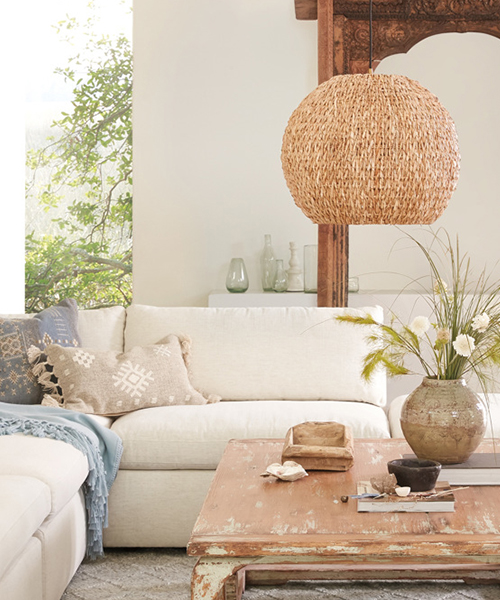 Rustic Globe Light