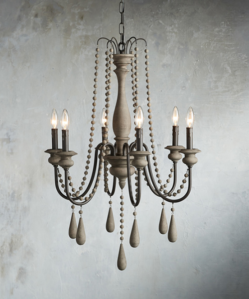 Louise Farmhouse Iron Chandelier