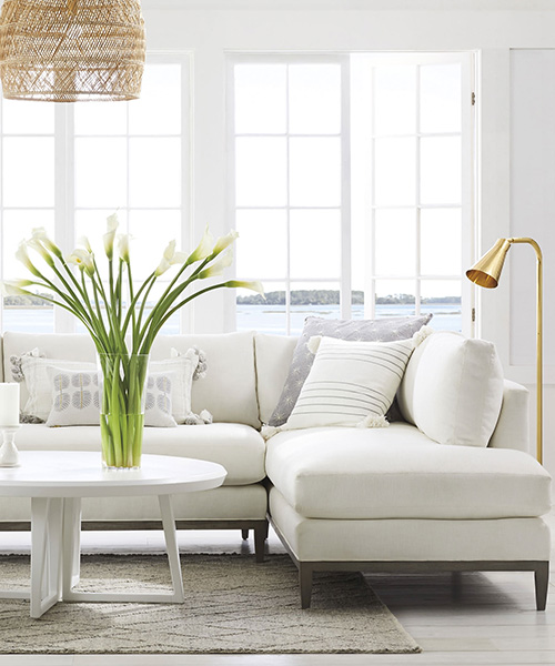 Modern Coastal Sectional