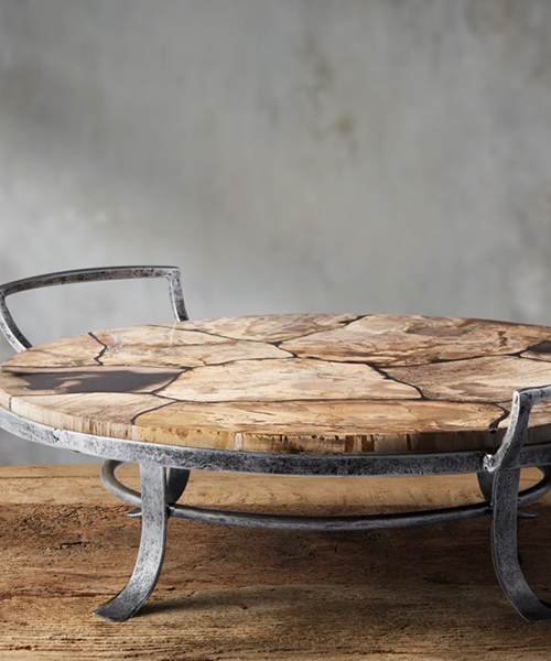 Petrified Wood Tray