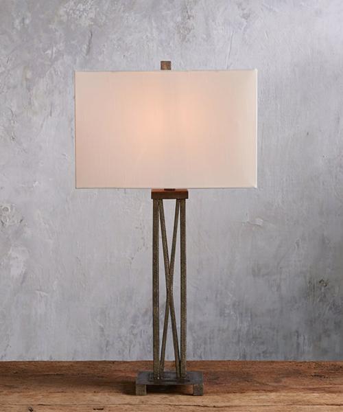 Pierce Solid Iron Lamp