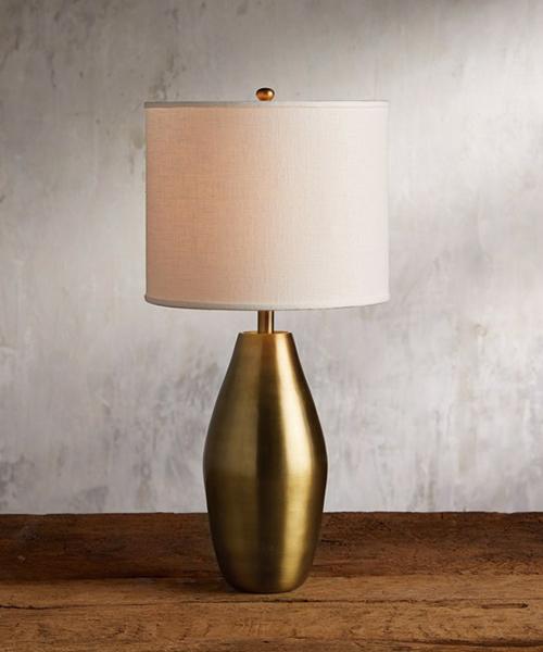Portobello Brass Table Lamp