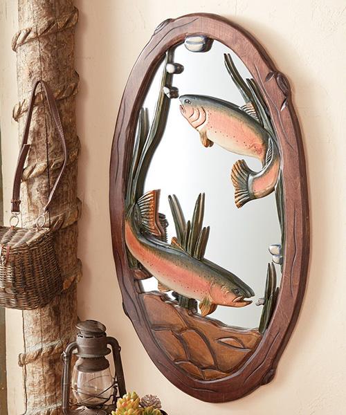 Rainbow Trout Mirror