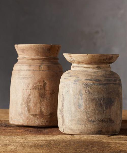 Reclaimed Wood Vase