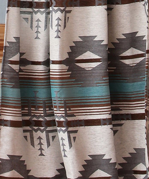 Rustic Dakota Shower Curtain