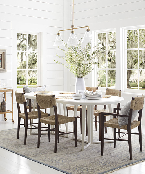 Seagrass Dining Room Chairs