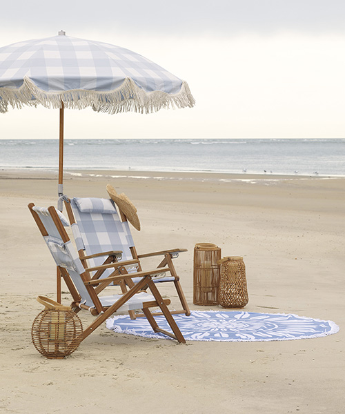Teak Beach Chair
