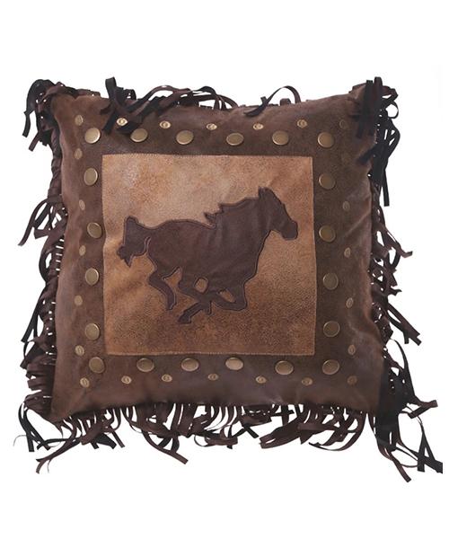 Western Horse Pillow
