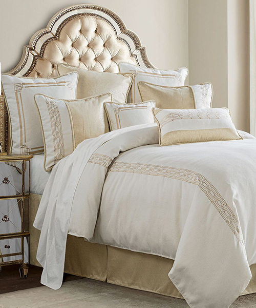 HiEnd Accents Hollywood Comforter Set