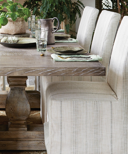 Kensington Pine Farmhouse Dining Table