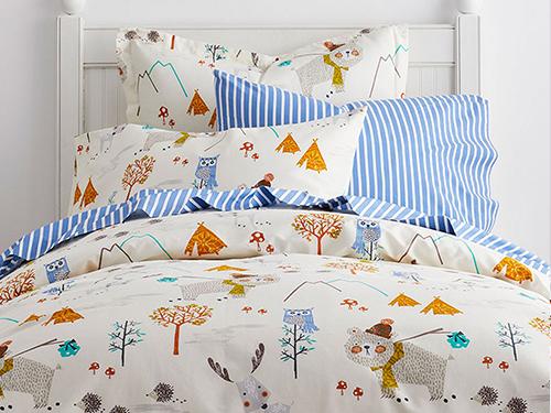 Kid's Rustic Bedding