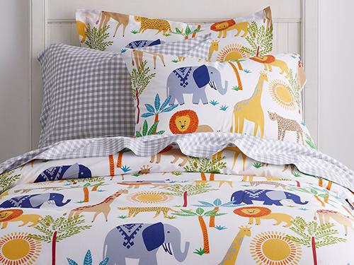 Kid's Safari Bedding