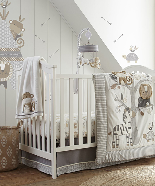Baby Boys Crib Bedding | Levtex Kenya Collection