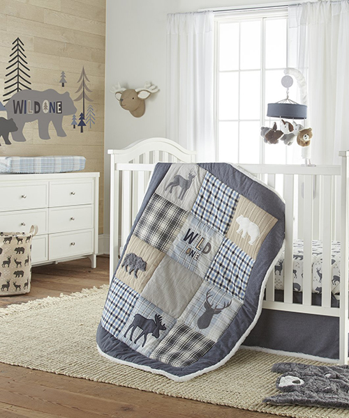 Wilderness Baby Bedding