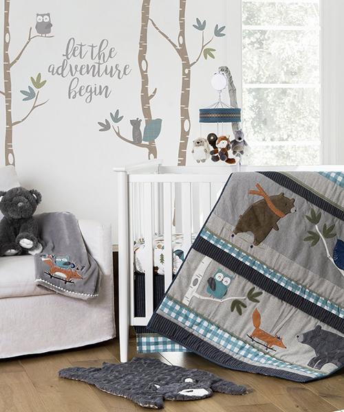 Baby Boys Bedding Collection | Levtex Play Day Crib Bedding