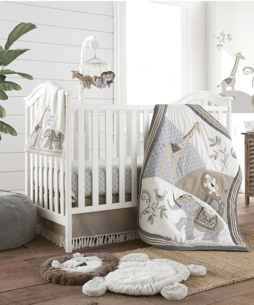 Jungle Friends Bedding