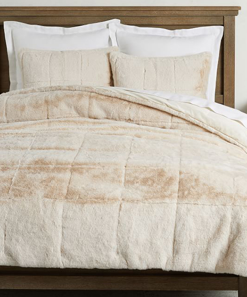 Alpine Faux Fur Bedding