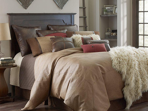Bright Earth Tone Bedding