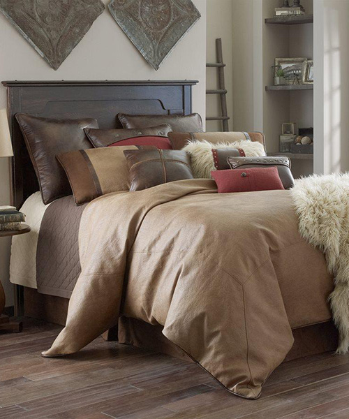 Brighton Rustic Earth Tone Bedding | Western Bedding