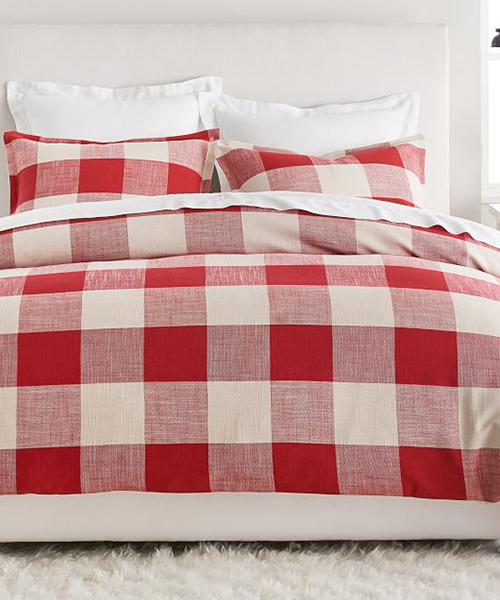 Buffalo Check Red Bedding