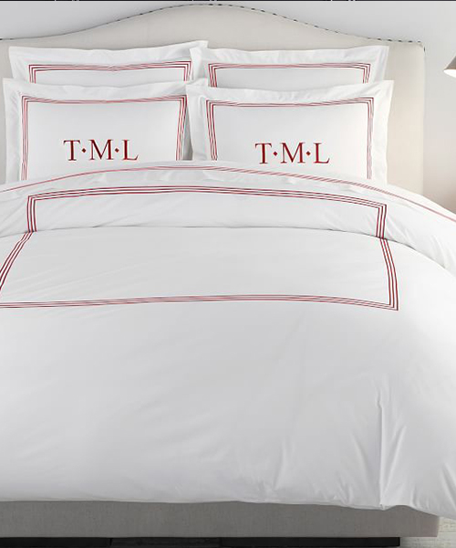 Hotel Christmas Bedding