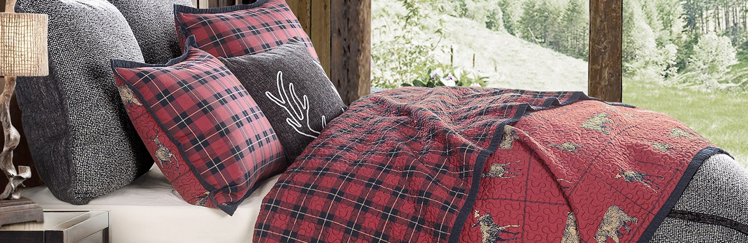 Lodge Bedding