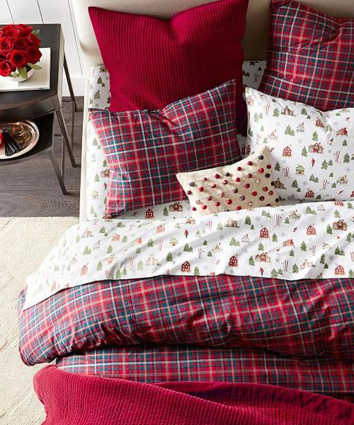 Ski Lodge Holiday Bedding