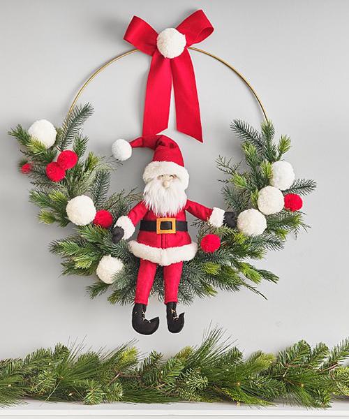 Kids Christmas Wreath