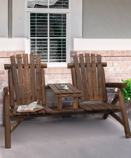 Adirondack Patio Chair Bench