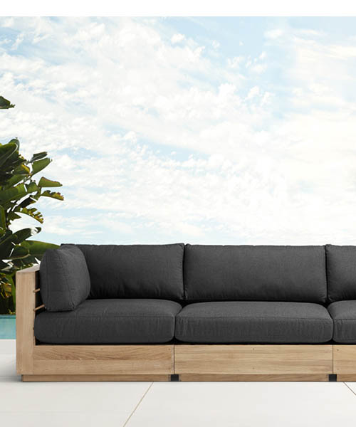 Bal Harbour Modern Rustic Outdoor Sectional