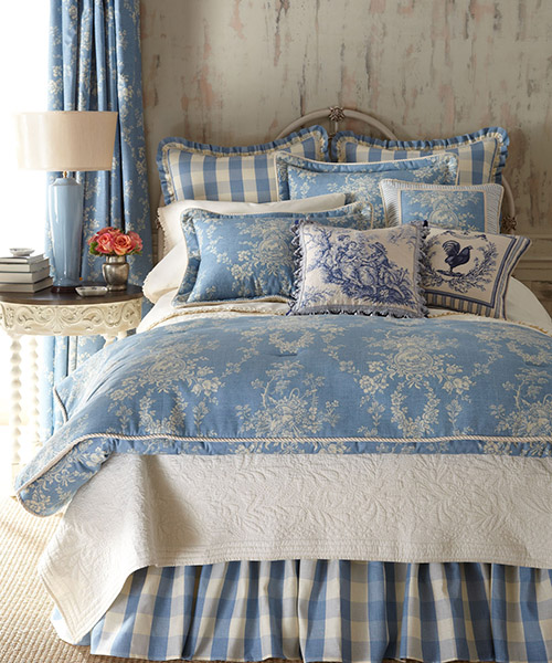 Country Manor Toile Bedding