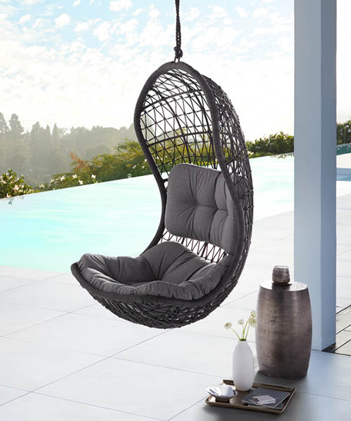 Modern Rustic Outdoor Hanging Chair
