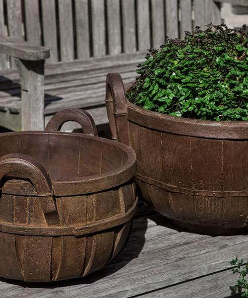 Farmers Market Basket Planter