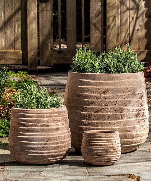 Handcrafted Rustic Terra Cotta Planter