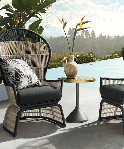 Palms Outdoor Lounge Chair