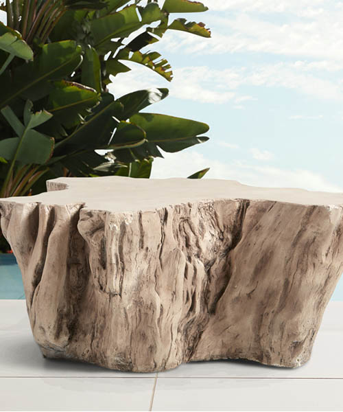 Root Outdoor Bleached Coffee Table