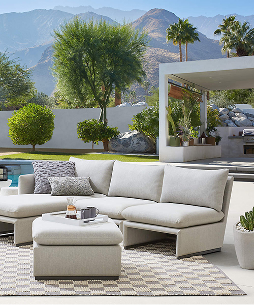 Zuma Outdoor Upholstered Sofa