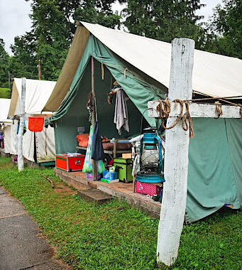 Ready tent