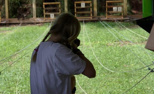 Girl rifle