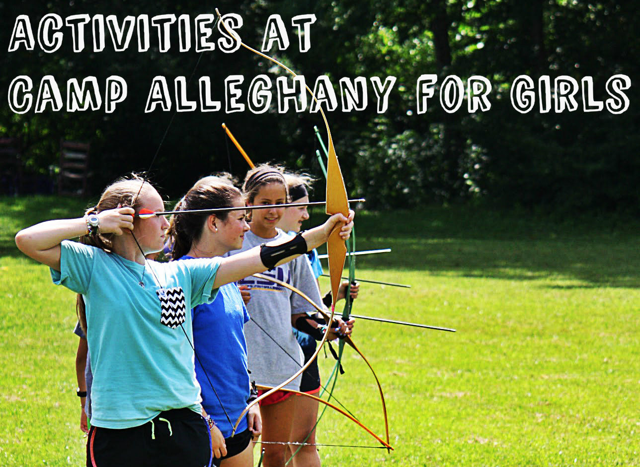 Activities at Camp Alleghany for Girls
