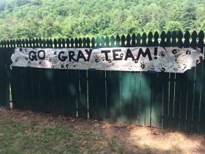 Gray Team Camp Alleghany