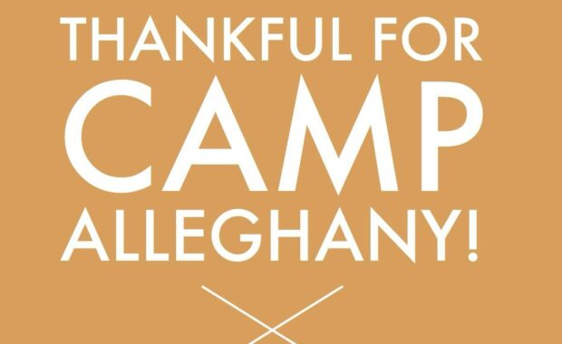 Thankjsful for Camp Alleghany