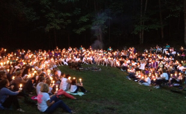 Candlelight Campfire