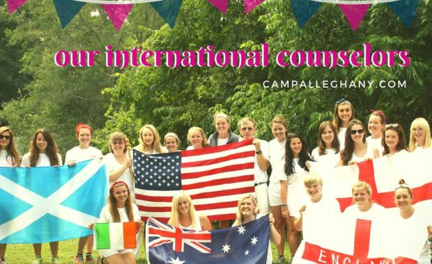 Camp Alleghany International Counselors