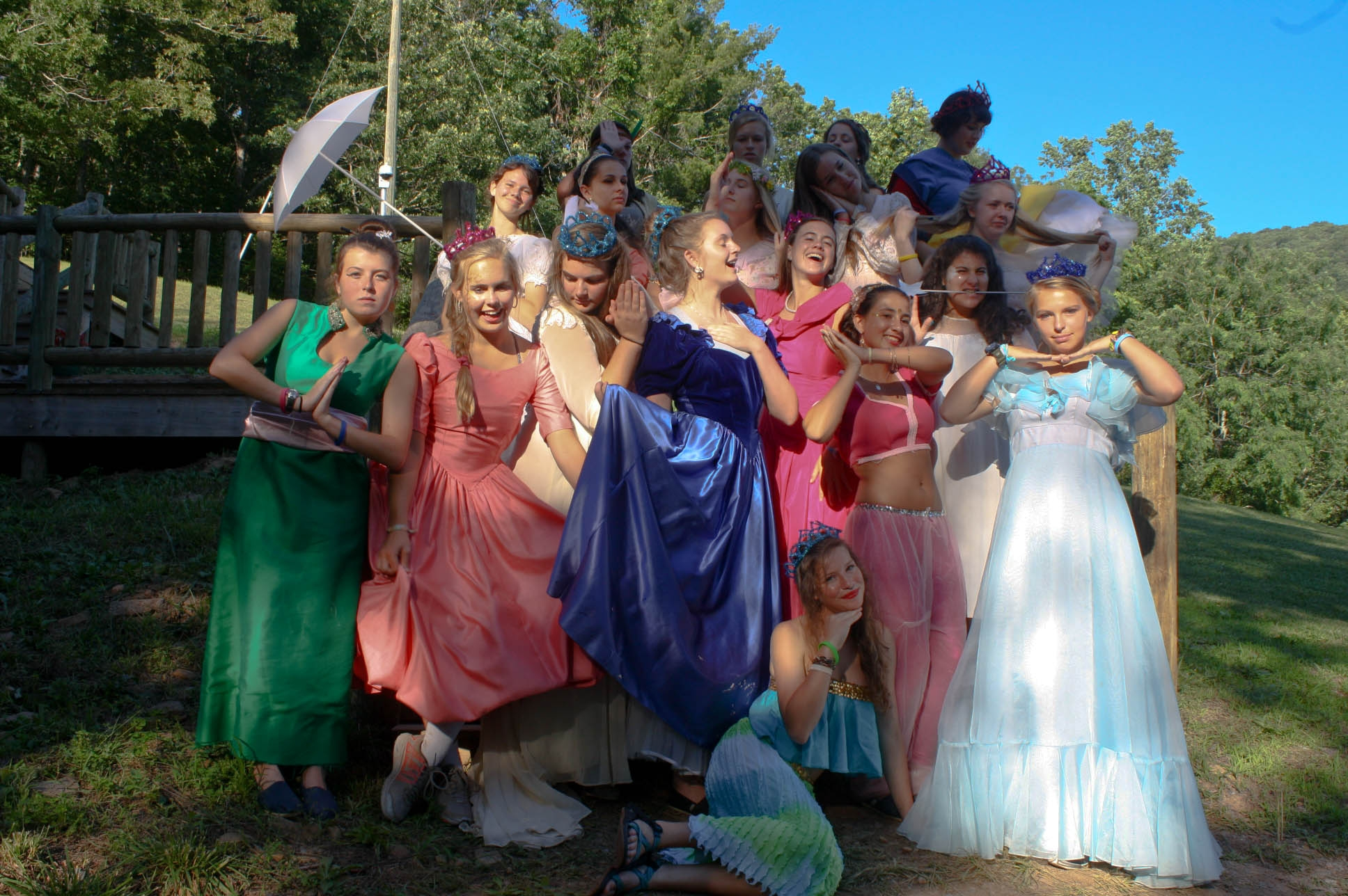 One of our rotating Mini Camp Banquet themes is Disney Princesses.