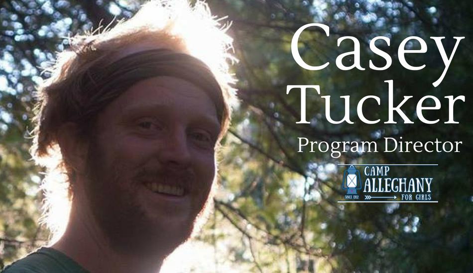 Casey Tucker, Camp Alleghany for Girls Program Director.