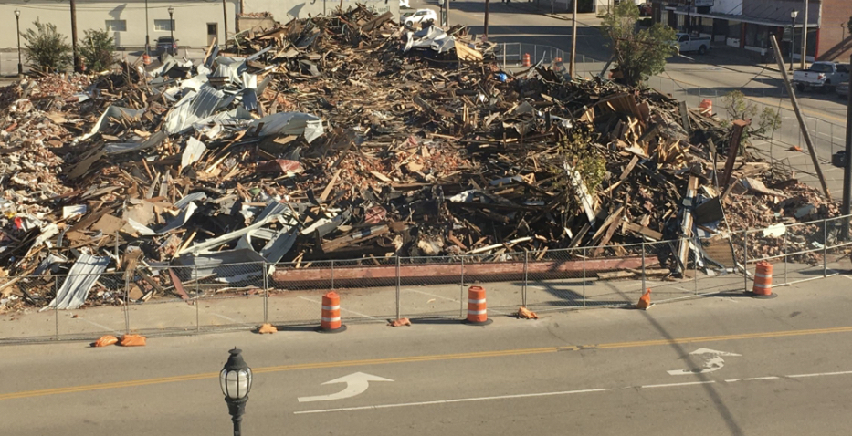 UPDATE:: PROPERTY CLEANUP DIRECTED TO START IN SEVEN DAYS
