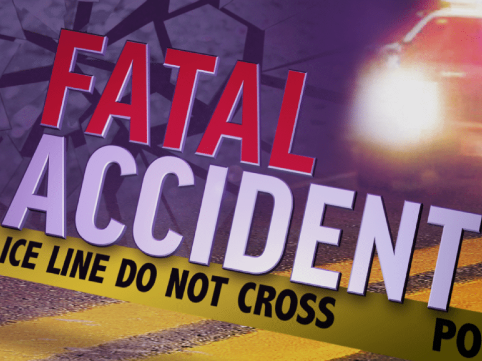 Slick Roads cause Two Wrecks, One Fatality